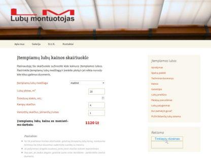 Interneto svetainė sukūrimas