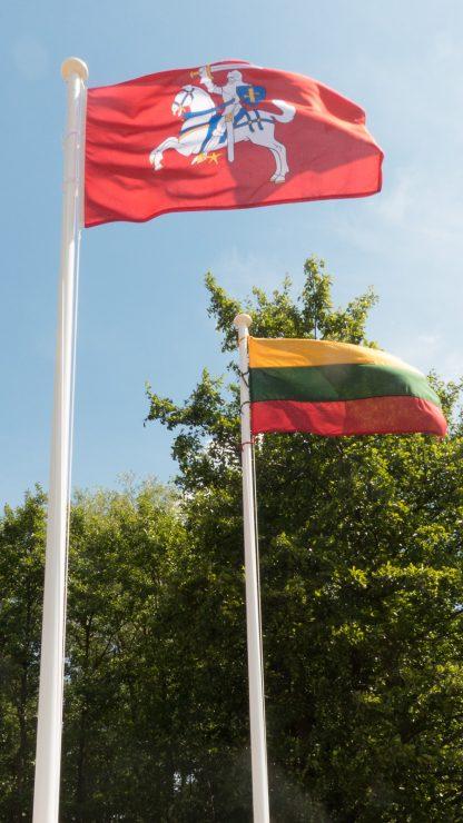 vėliavų stiebai