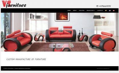 Sukurta interneto svetainė