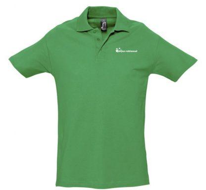 užrašų uždėjimas ant polo marškinėlių, kelly žalia