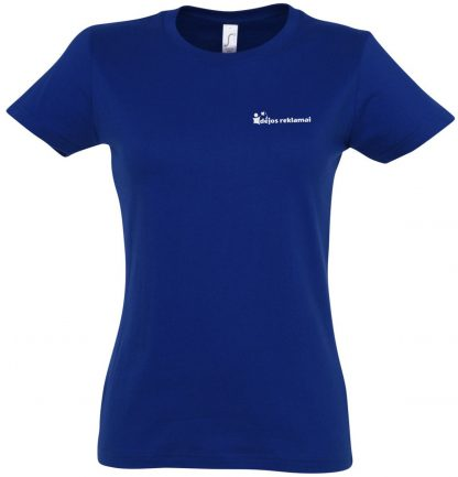 marškinėliai su užrašu , mėlyni