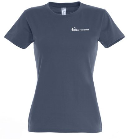 marškinėliai su užrašu