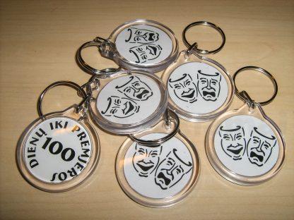 plastikinių raktų pakabukų gamyba